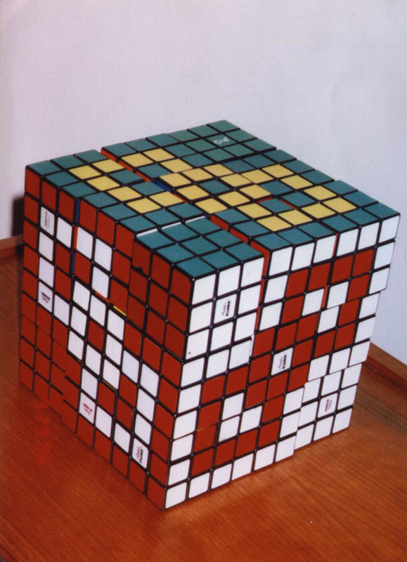 cool 4x4 rubiks cube patterns stripes